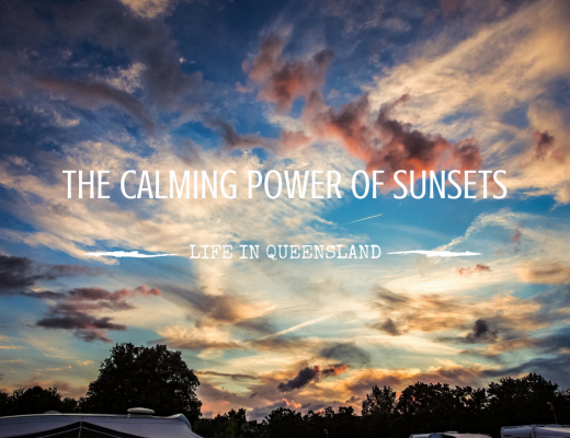 The calming power of a sunset