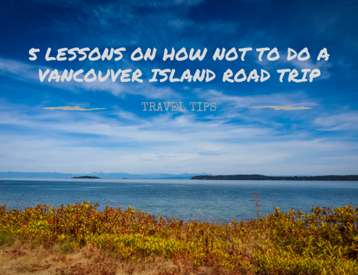 5 lessons how not to do a Vancouver Island road trip